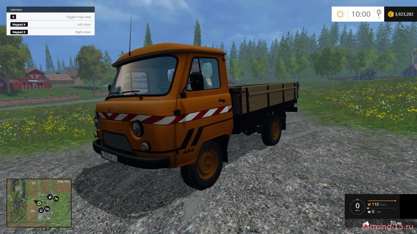 Русская техника для Мод УАЗ-452Д для Farming Simulator 2015