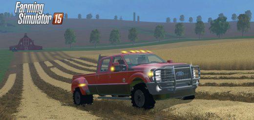 Машины для Мод машина Ford F450 Platinum V9 для Farming Simulator 2015