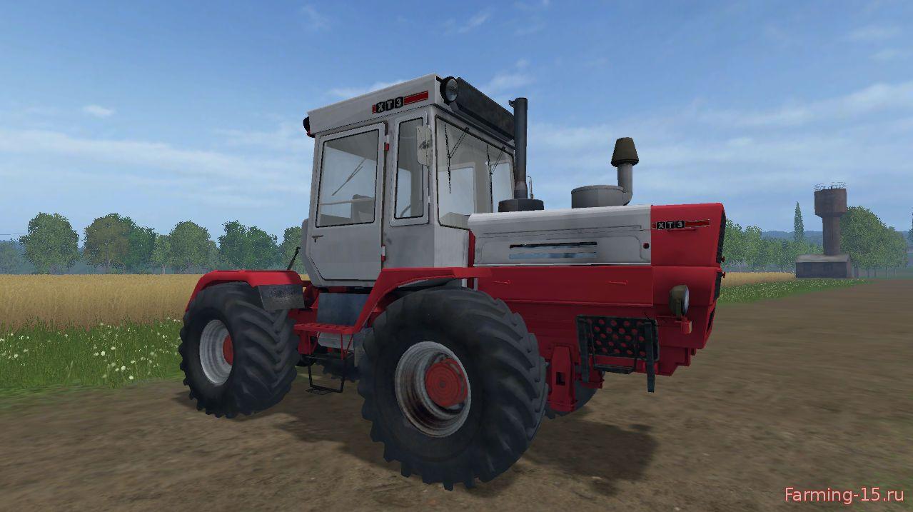 Русская техника для Мод трактор ХЗТ Т-150КМ для Farming Simulator 2015