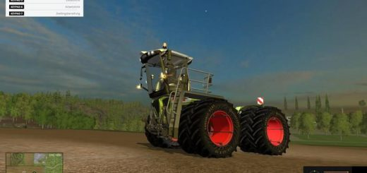 Тракторы для Мод трактор Claas Xerion 3800 SaddleTrac v3.0 для Farming Simulator 2015