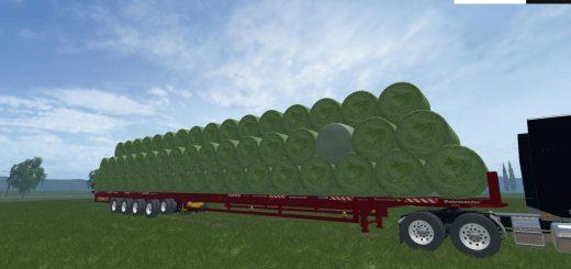 Прицепы для Мод большой прицеп для тюков для Farming Simulator 2015