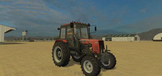 Русская техника для Мод трактор МТЗ-82.1 Беларус edit Dainius для Farming Simulator 2015