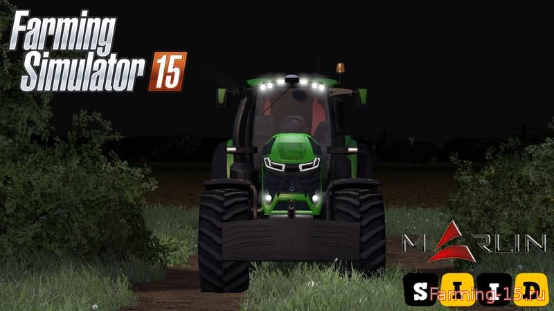 Тракторы для Мод трактор Deutz Fahr 9340 v1.2 для Farming Simulator 2015