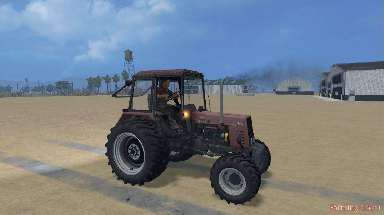 Русская техника для Мод трактор МТЗ 82.1 для Farming Simulator 2015