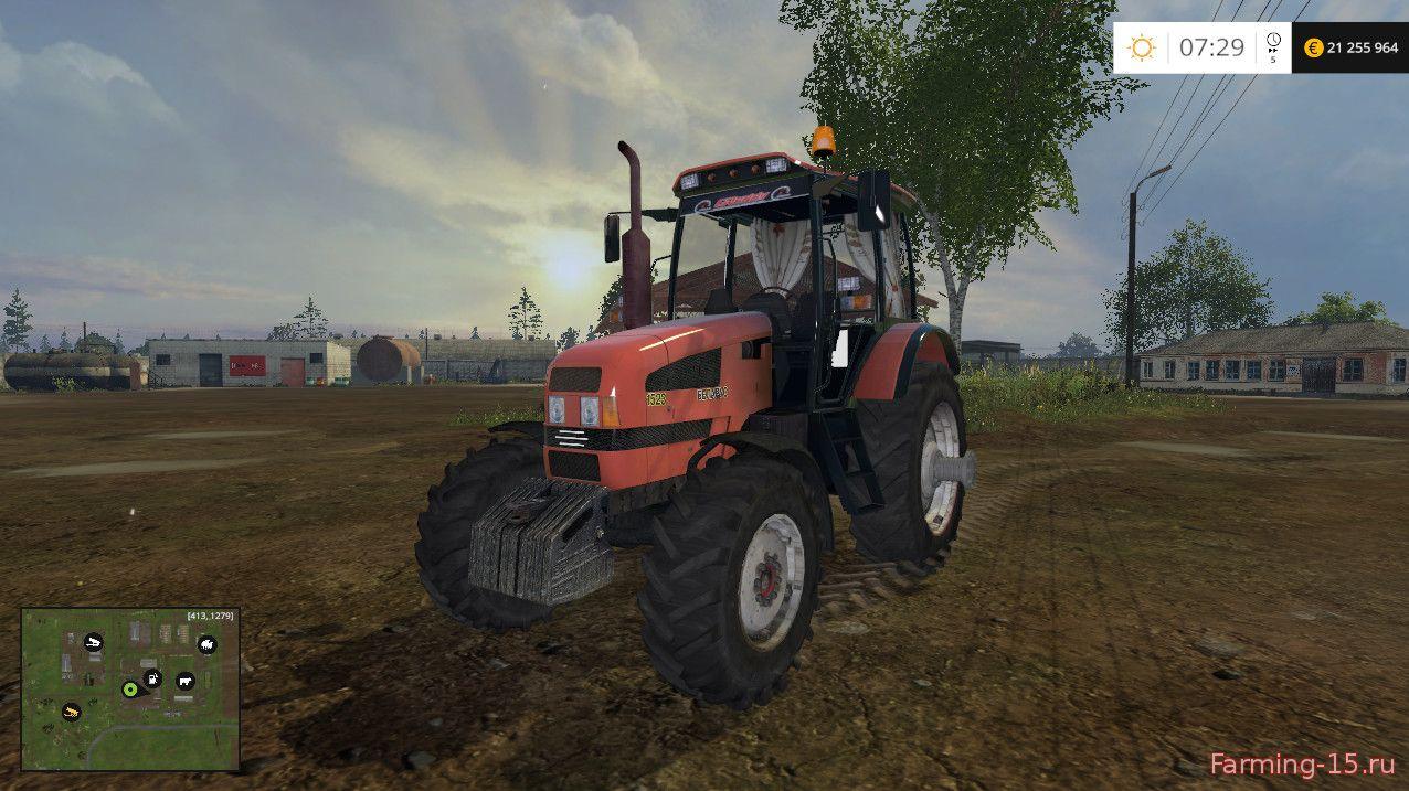 Русская техника для Мод трактор МТЗ 1523 для Farming Simulator 2015