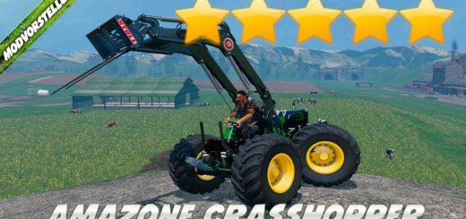 Машины для Мод-пак квадрациклов «Amazon Crass Hopper» v2.0 для Farming Simulator 2015
