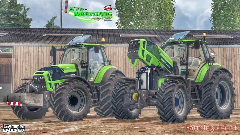 Тракторы для Мод-пак тракторов Deutz Fahr TTV 7250 v4.0 для Farming Simulator 2015