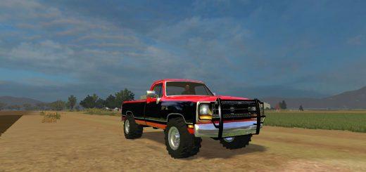Машины для Мод машина Dodge RAM D250 B V1.1 для Farming Simulator 2015
