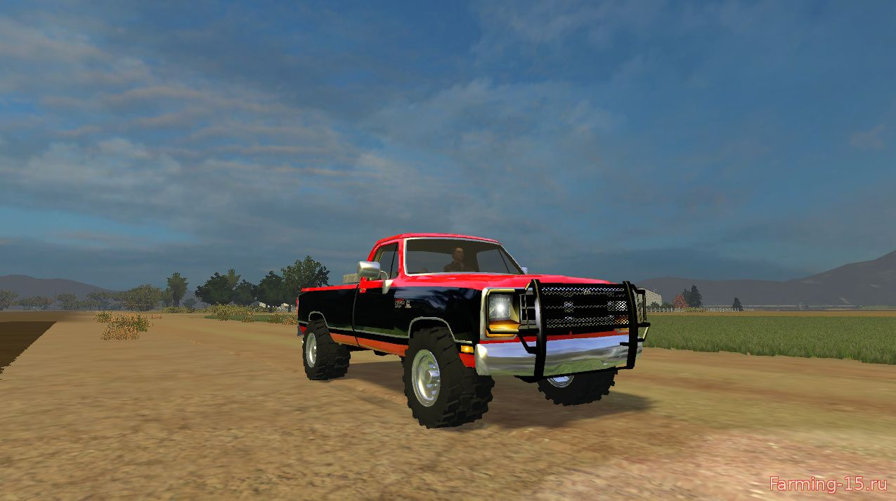 Машины для Мод машина Dodge RAM D250 B V1.1 для Farming Simulator 2015