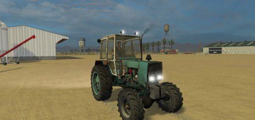 Русская техника для Мод трактор ЮМЗ 6КЛ V1.2 для Farming Simulator 2015