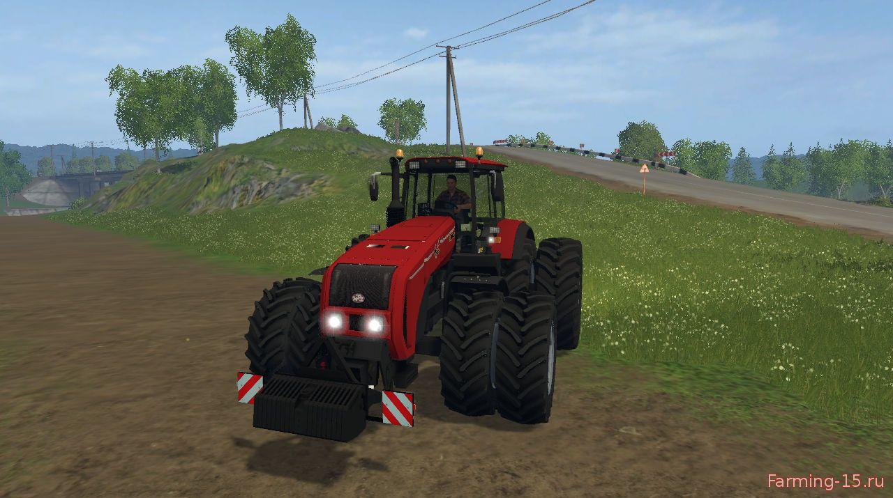 Русская техника для Мод трактор Беларус 3522 v1.3 для Farming Simulator 2015