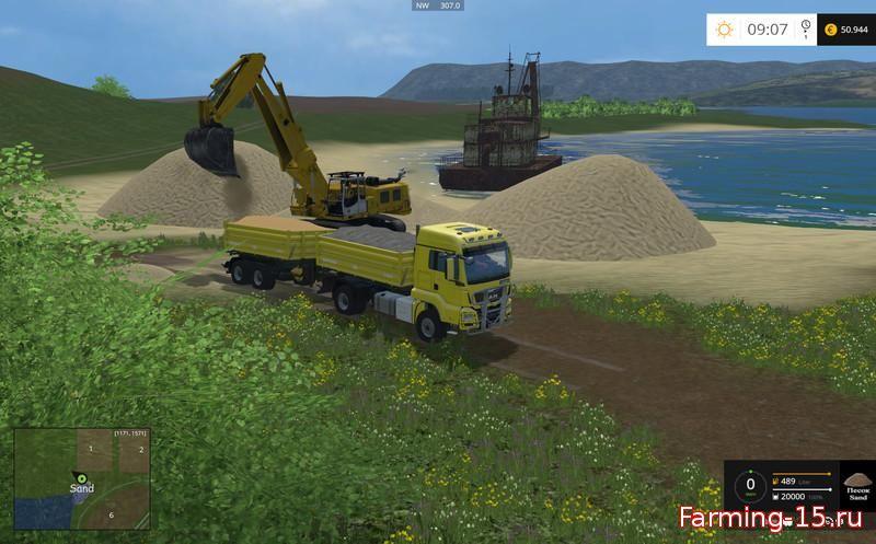 Русские карты для Карта Самара Волга v2.1 для Farming Simulator 2015