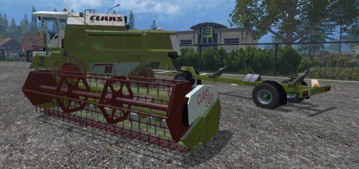 Комбайны для Мод комбайн Claas Dominator 86 для Farming Simulator 2015