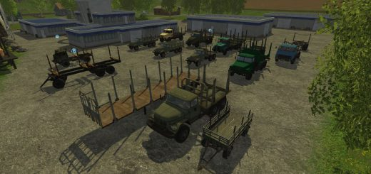 Лесозагатовка для Мод Лесоповал обнавленный для Farming Simulator 2015