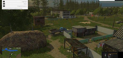 Русские карты для Русская карта Берёзовка для Farming Simulator 2015