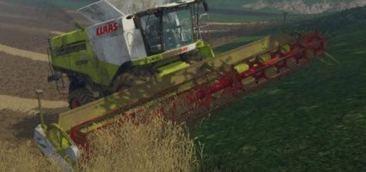Комбайны для Мод комбайн Claas Lexion 780 для Farming Simulator 2015