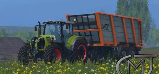 Тракторы для Мод трактор Claas Arion 650 v2.5 для Farming Simulator 2015