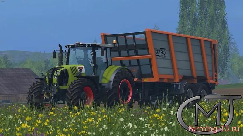 Тракторы для Мод трактор Claas Arion 650 v2.5 для Farming Simulator 2015