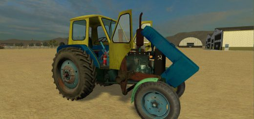 Русская техника для Мод трактор ЮМЗ-6Л для Farming Simulator 2015