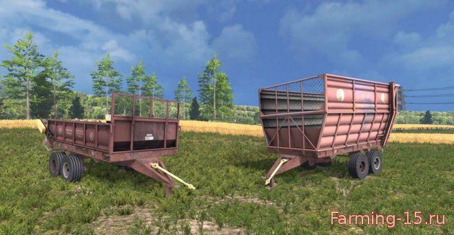 Прицепы для Мод-пак прицепов ПІМ-20 и РОУ-6 для Farming Simulator 2015
