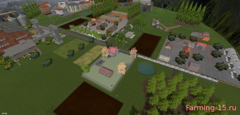 Карты для Карта Nowy Debiec v1.0 для Farming Simulator 2015