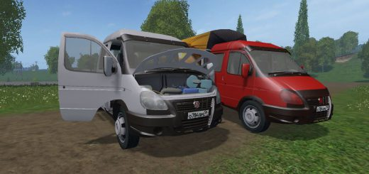 Русская техника для Мод машина ГАЗ 3310 Валдай v1.1 для Farming Simulator 2015