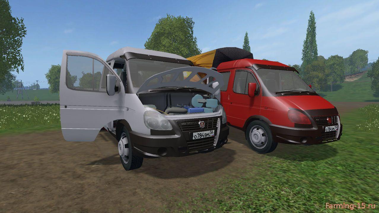 Русская техника для Мод машина ГАЗ 3310 Валдай v1.1 для Farming Simulator 2015