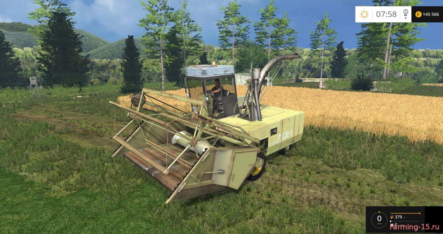Комбайны для Мод комбайн для уборки кукурузы на силос для Farming Simulator 2015