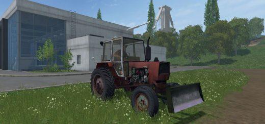 Русская техника для Мод трактор ЮМЗ 6 KЛ v2.0 для Farming Simulator 2015