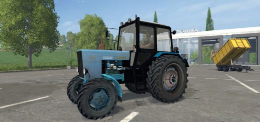 Русская техника для Мод трактор МТЗ 82 Беларус v 3.0 для Farming Simulator 2015