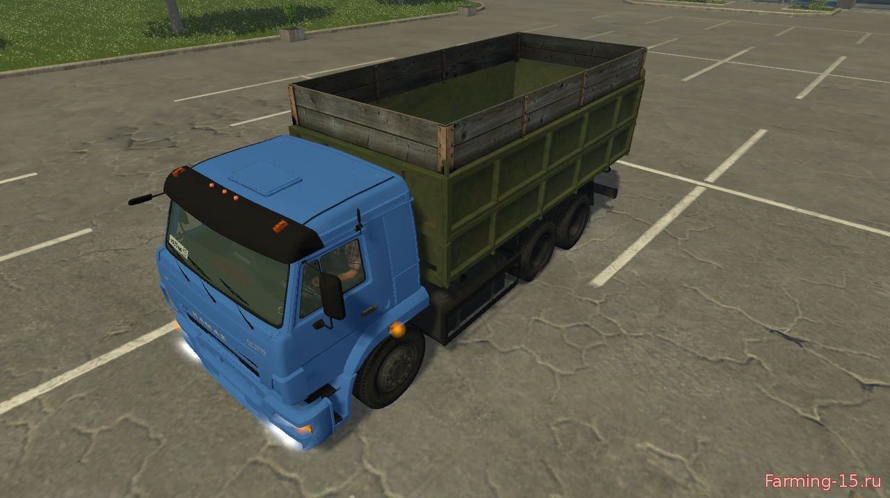 Русская техника для Мод грузовик КамАЗ 420 для Farming Simulator 2015