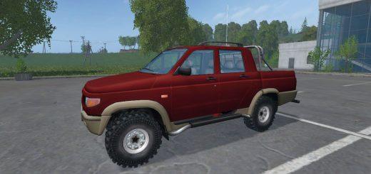 Русская техника для Мод машина УАЗ-2362 «Симбир» v 2.0 для Farming Simulator 2015