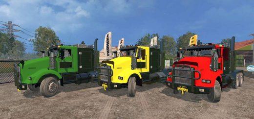 Грузовики для Мод грузовик Kenworth v1.0 для Farming Simulator 2015