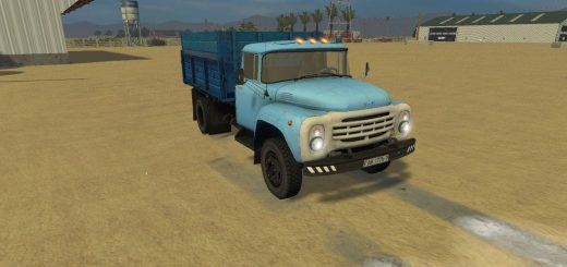 Русская техника для Мод грузовик ЗиЛ 130 для Farming Simulator 2015