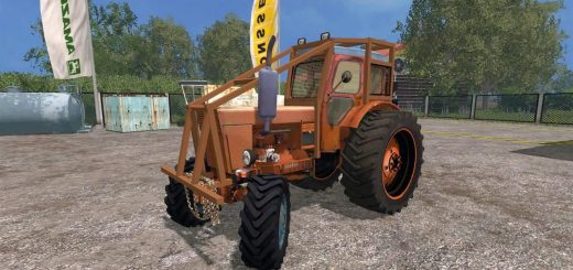Русская техника для Мод трактор ЛТЗ Т-40АМ для Farming Simulator 2015