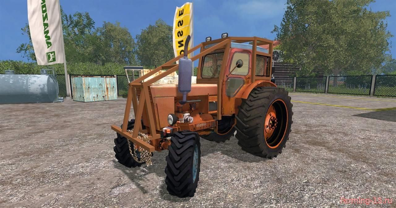 Русская техника для Мод трактор ЛТЗ Т-40АМ для Farming Simulator 2015