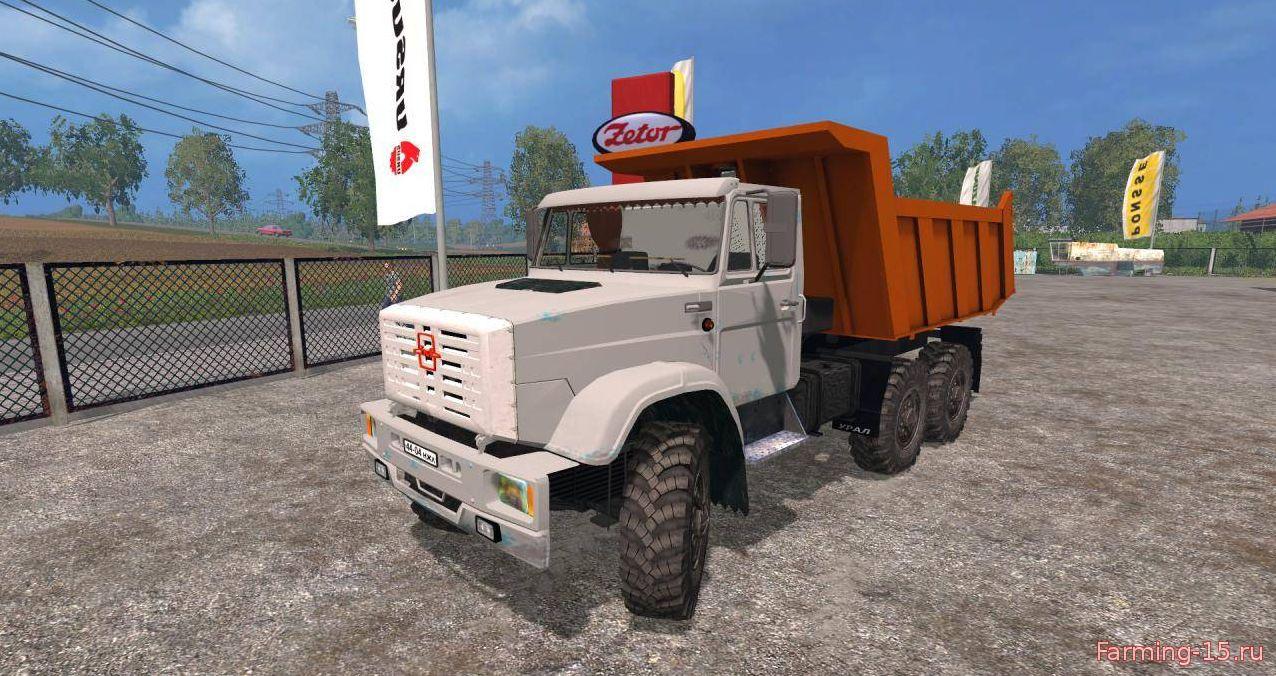 Русская техника для Мод грузовик ЗиЛ 4331 Совок для Farming Simulator 2015