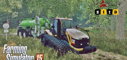 Тракторы для Мод трактор Cat Challenger MT865B v1.0 для Farming Simulator 2015