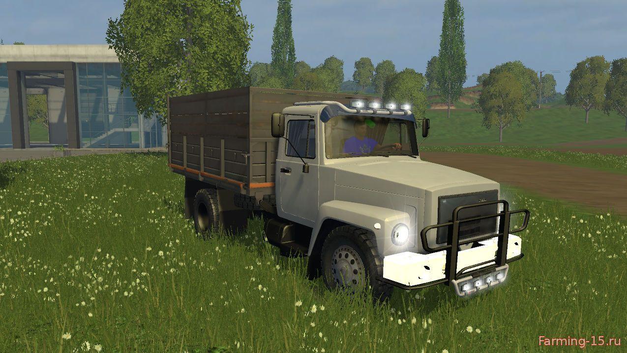 Русская техника для Мод грузовик ГАЗ 35071 для Farming Simulator 2015