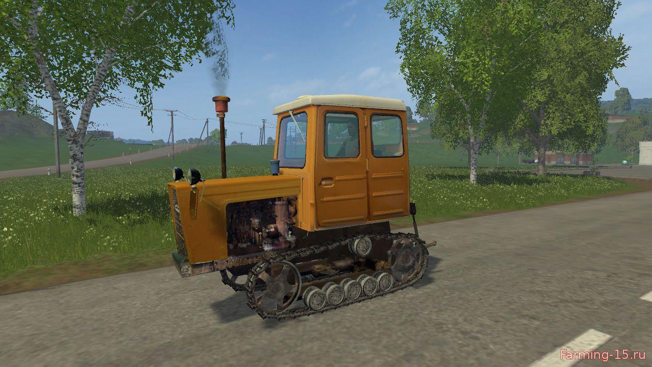 Русская техника для Мод трактор Т-54В «Болгар v 2.0» для Farming Simulator 2015