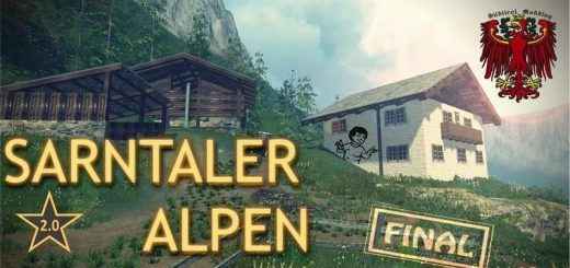 Карты для Карта Sarntaler Alpen 2.0 для Farming Simulator 2015