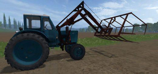 Русская техника для Мод трактор МТЗ-50 для Farming Simulator 2015