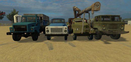 Русская техника для Мод-пак «ГАЗ и модули» для Farming Simulator 2015