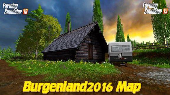 Карты для Карта Burgenland 2016 v 1.4 для Farming Simulator 2015