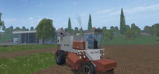 Русская техника для Свеклоуборочный комбайн КС-6Б для Farming Simulator 2015