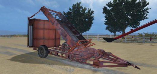 С/Х инвентарь для Мод подборщик-копнитель ПК-1.6 для Farming Simulator 2015