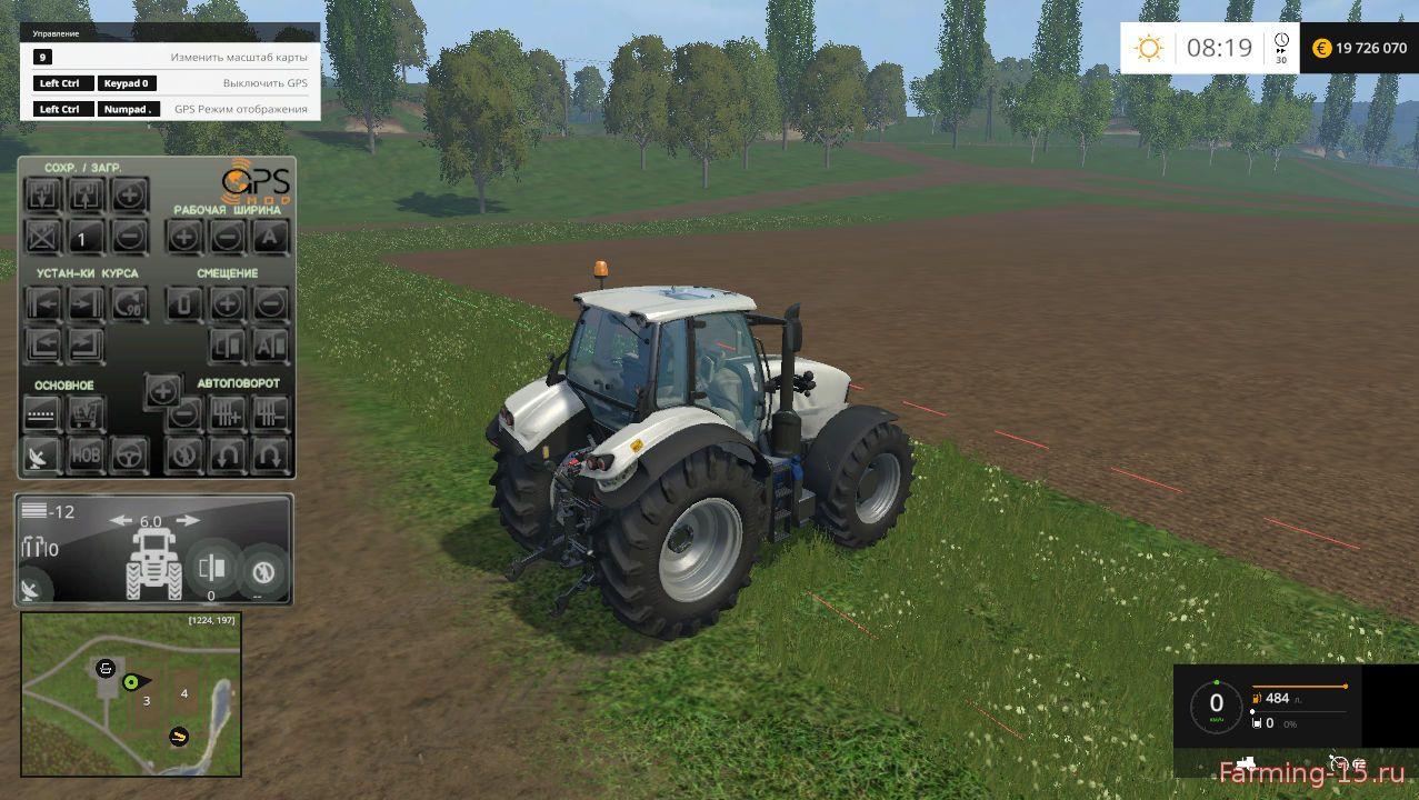 Другие моды для Мод навигатор GPS v 4.2 RU для Farming Simulator 2015