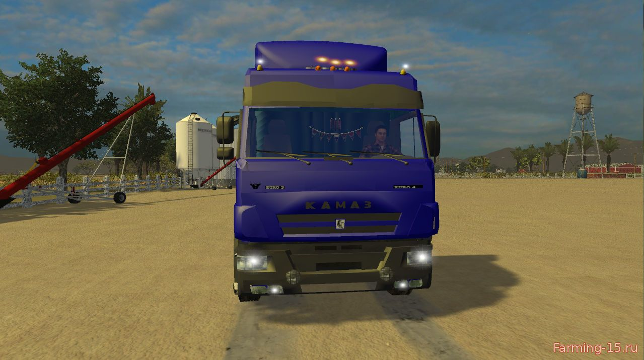 Русская техника для Мод грузовик «КамАЗ 5460М» для Farming Simulator 2015