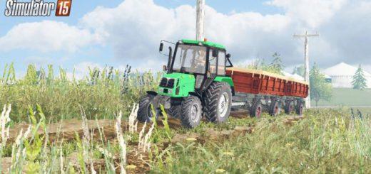 Русская техника для Мод трактор МТЗ 820 Беларус v 2.0 для Farming Simulator 2015