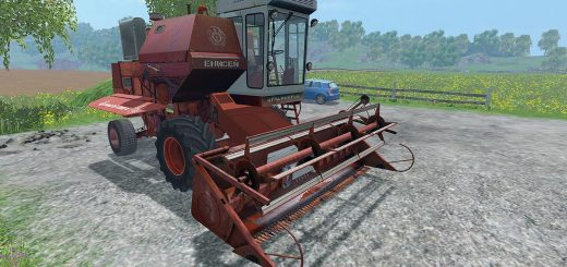 Русская техника для Мод комбайн Енисей-1200Н для Farming Simulator 2015